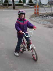 Born to be wild (on a pink bike)